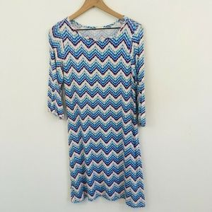 Pixley Stitch Fix Chevron Shift Dress